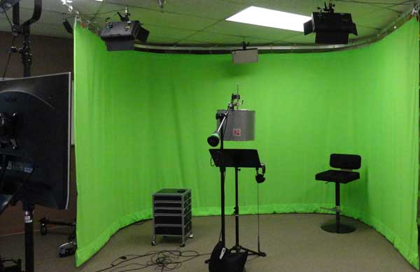 Green Screen for Design Laboratories Inc